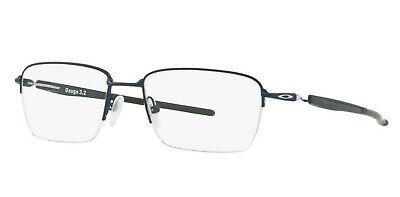NEW Genuine OAKLEY GAUGE 3.2 BLADE Matte Midnight Eyeglasses Frame OX 5128 0352