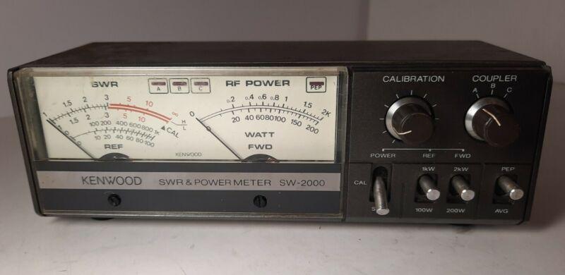 Kenwood SWR & Power Meter SW-2000