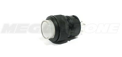 16mm White Illuminated ON-OFF Latching Push Button Switch R16-503AD USA SELLER!