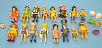 PLAYMOBIL DOLLHOUSE PEOPLE FIGURES LOT