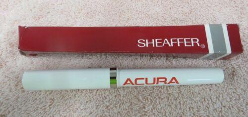 Acura Ballpoint Pen -- Red Acura Logo -- Sheaffer -- New Old Stock