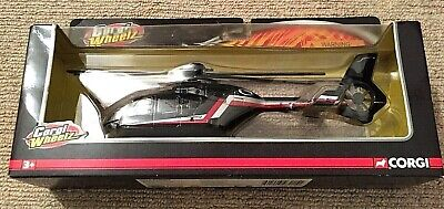 EUROCOPTER EC135 MODEL HELICOPTER AIRPLANE AIRCRAFT 1:50 Black CORGI TY93215