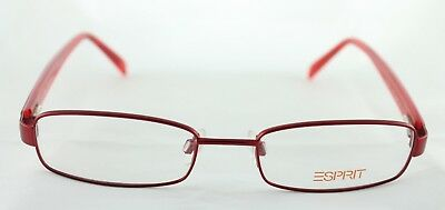 Original ESPRIT Red Eyeglasses Frame Geek Chic Design MOD.ET9250 Free (Geek Chic Glasses Frames)