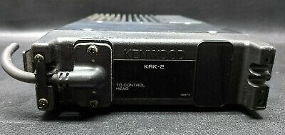 Kenwood Tk-630h Low Band Fm Transceiver Radio Krk-2 Tk630