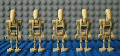 Lego Star Wars Battle Droids x 5 Mini Figures