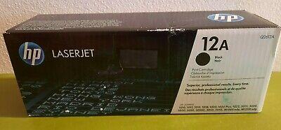 Toner HP 12A Black Q2612A  * Karton hat Lagerspuren *