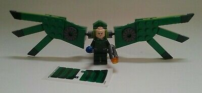 LEGO Marvel Super Hero Spider-man VULTURE MINIFIGURE from Spider Crawler 76114