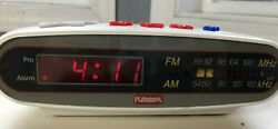 VTG PLAYSKOOL Alarm Clock Radio Kids Toy Music Player Digital AM/FM PS-360 B7