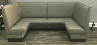U Shaped Bench-upholstered Corner Booth For Dining