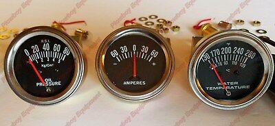 New Gauge Set For Allis Chalmers Tractor B C Ca G Wc Wd Wd45 Temp Amp Oil