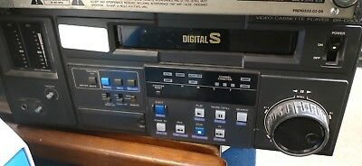 JVC BR-D50U Digital S Player w/ 2 Channel PCM Sound TC Generator Reader Analog for sale  Shipping to India