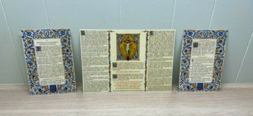 BEAUTIFUL TRAVEL SIZE ALTAR CARDS + TRADITIONAL LATIN MASS CARDS