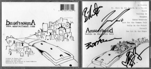 AUTOGRAPHED Amsterband ~ Buckle in the Bible Belt ~ CD