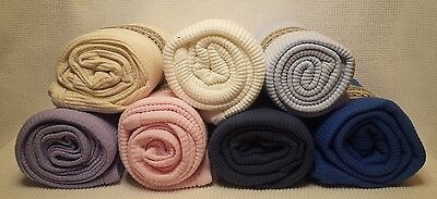 NEW Organic Cotton Waffle Weave Thermal Toddler Blanket 31x50 Crib Critters USA
