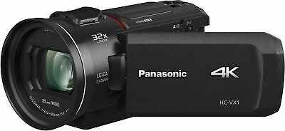 Brand New Panasonic HC-VX1 Camcorder, Black - Free Shipping