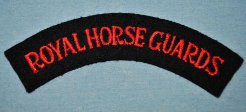 Royal Horse Guards Patch - WWII Occupation Era