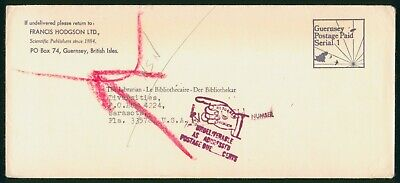 Mayfairstamps Guernsey Francis Hodgson Ltd Diversities Undeliverable Cover wwo_5