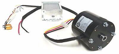 16 Hp 38 Bore Hollow Shaft Brushless 12v Dc Variable Speed Fan Blower Motor