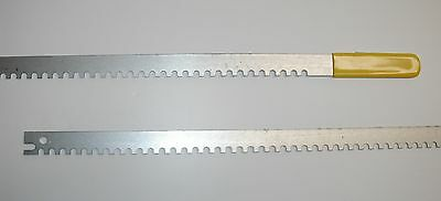 """Boiler Soot Cleaning Saber Service Saw Tool, Narrow Pass, Zinc Coated Steel 32"""""""