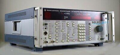 Rohde Schwarz Esh3 335.8017.52 Test Receiver 9 Khz - 30 Mhz Look Ref015f