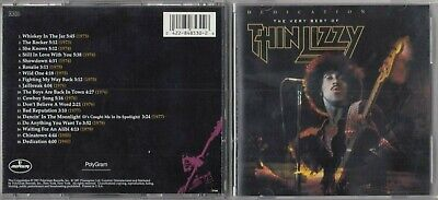 Thin Lizzy  - Dedication: The Very Best of (CD 1991, Mercury) EARLY PRESS USA