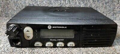 Motorola Cm300 Uhf 438-470 Mhz 25 Watt Radio Aam50rnf9aa1an Buy 1 - 4