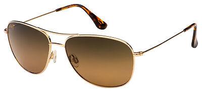 Maui Jim Cliff House Sunglasses HS247-16 Gold   HCL Bronze Polarized (Sunglass House)