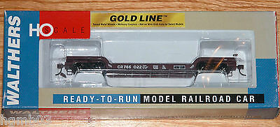 Walthers 932 7886 Gold Line 90 Ton Gsc Depressed Center Flat Car Conrail 766022