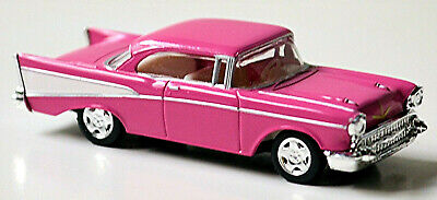 Chevrolet Bel Air Coupe 1957 rosa 1:87 Herpa 021982