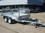 Take Home Pay Later! 10x5 Tandem Box Trailer for Sale Coopers Plains Brisbane South West Preview