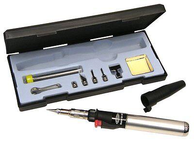 Blazer 189-1006 Excalibur Multi-purpose Butane Torch And Hot Air Soldering Kit
