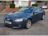 58 Reg Audi A5 Coupe 1.8 TFSI, FSH, Grey Leather, Finance, & P/X Welcome
