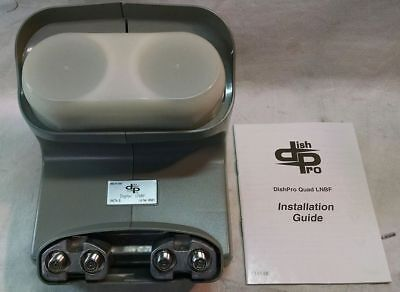 DISH PRO PLUS AK74-S Digital LNBF Quad Bell ExpressVu Dish Network AK74S NEW Digital Plus Digital Quad