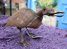 Metal Duck handmade