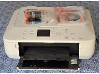 Canon printer / scanner MG5650 (wi-fi) with spare inks - slight paper feed intermittent problem