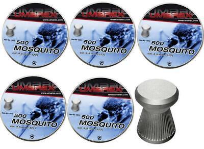 Bolitas Piombini 4,5 Umarex Mosquito 5PZ Carabina Aire Comprimido Rifle de