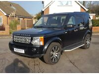 09 reg Land Rover Discovery 4 Look, Discovery 3 TDV6 HSE, 7 Seats, Sat Nav, TV, P/X,Finance,C/Cards