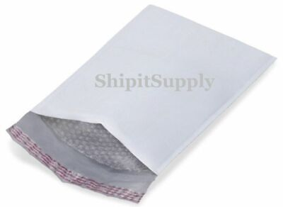 1-300 2 8.5x12  White Color Poly Bubble Mailers Fast Shipping