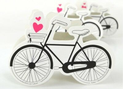 25/50Pcs Bike Favor Gift Box Candy Boxes Bag Wedding Party Decor