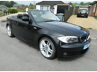2012 BMW 120D M Sport Convertible. P/X, Warranty, Credit Cards Welcome