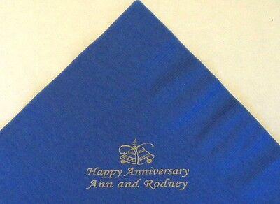 Bedruckte Papier-servietten (Hochzeitsballons 50 personalisiert mit 200 bedruckt papierservietten)