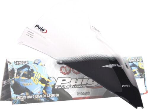 PUIG RACING WINDSCREEN CLEAR RSV4 4945W