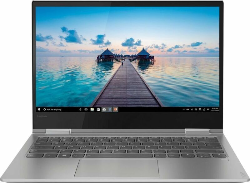 "Lenovo Yoga 730 2-in-1 15.6"" Touch-Screen Laptop Intel Core i7 16GB Memory 512GB Solid State Drive Platinum Silver 81CU0047US"