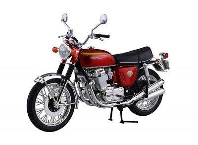 Aoshima Skynet Honda CB750FOUR (K0) Candy Red 1/12 Scale