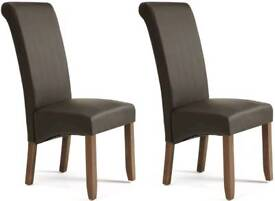 Faux leather Dinning Room / Restaurant chairs - More than 20 Available