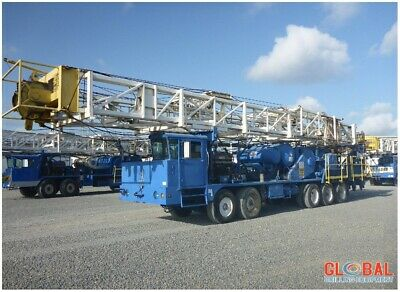 1981 Corsair Crane Carrier Workover Rig