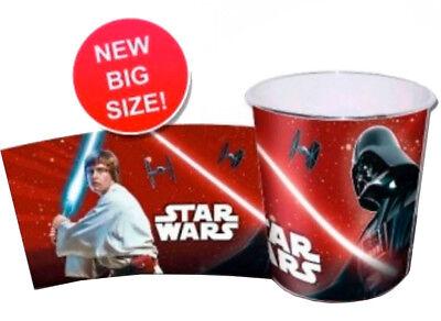 Star Wars Darth Vader Kinder Papierkorb Mülleimer Kunststoff Abfalleimer Eimer
