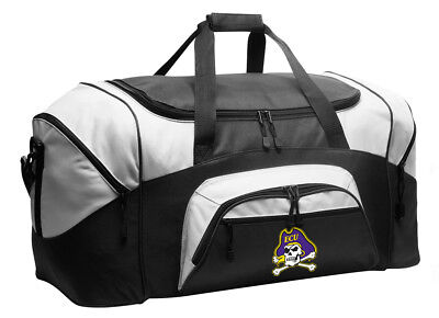 ECU Duffle Bag or Large Gym Bags or East Carolina Suitcase LOADED w/ POCKETS