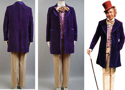 Willy Wonka and the Chocolate Factory Gene Wilder 1971 Halloween Cosplay
