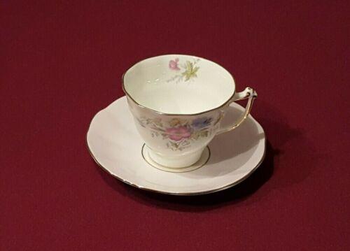 English Fine Bone China SAMPSON SMITH OLD ROYAL & ELIZABETHAN Cup and Saucer Set